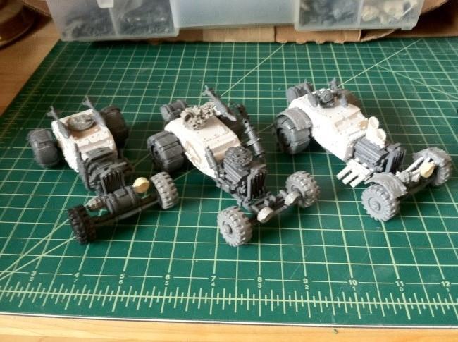 Ork Hot Rod Buggies